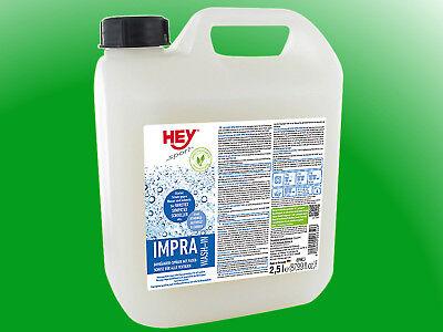 (24,36€/l)  HEY SPORT® Impra Wash In - 2,5l - Flüssigimprägnierer zum Einspülen