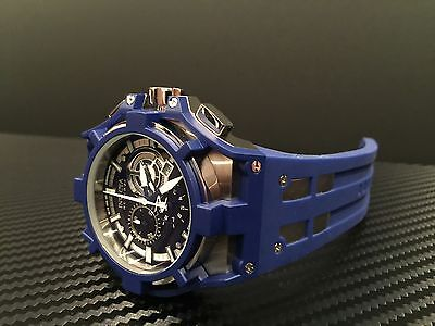 Invicta Men's 0633 Reserve Collection Akula Chronograph Blue Watch