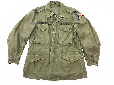 Vintage 1950s Original US Army M-65 Field Jacket Medium