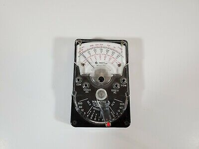 Triplett Corporation Model 310 Multimeter No Leads Euc Made In The Usa
