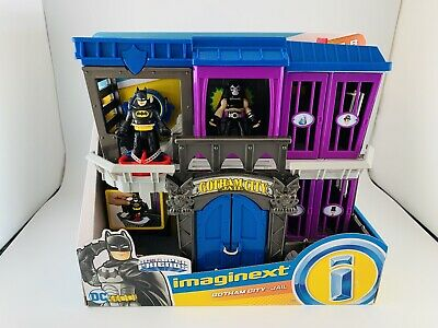 Imaginext DC Super Friends Batman Gotham City Jail Fisher-Price Bane Toy Sale