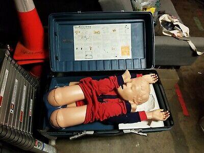 Laerdal Resusci Little Junior Child Cpr Training Manikin -with Case