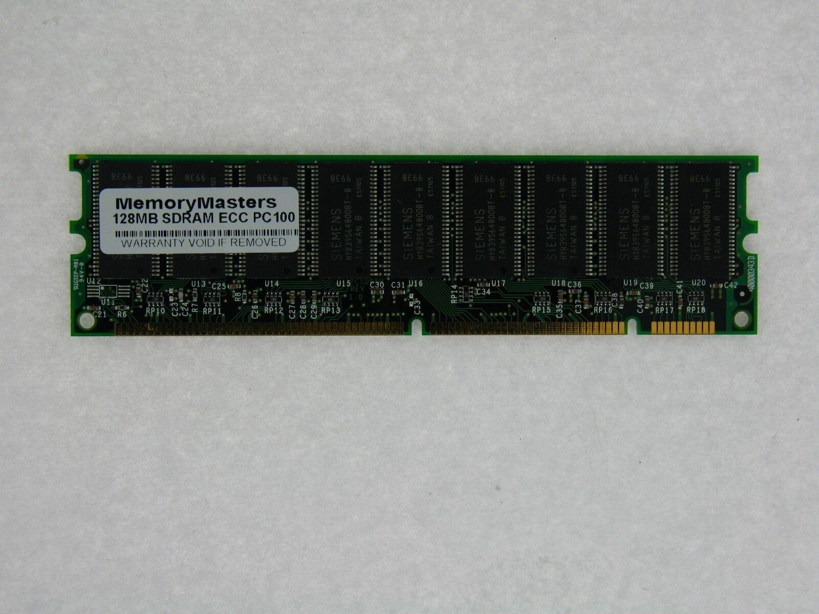 128MB eMachines Memory PC100 168 pin SDRAM DIMM Non-ECC eMachine RAM