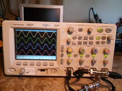 Agilent Mso6014a 4 Channel 100mhz 2gss Mso Oscilloscope With All Probes
