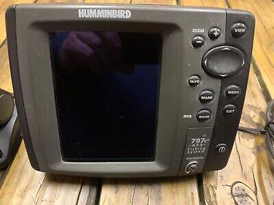 Humminbird XNT-9-SI-180-T Transom Mount Transducer Dual//Side Imaging w//Temp 797c