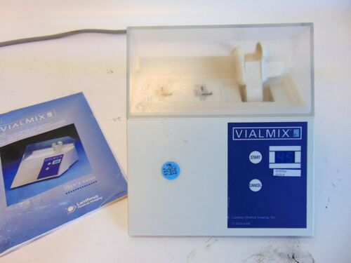Lantheus Medical Vialmix Laboratory Vial Mixer With Users Guide S4364