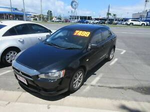 2010 Mitsubishi Lancer ES SPORTBACK Manual Hatchback Westcourt Cairns City Preview