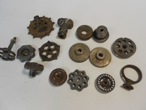 Steampunk Material Grab Bag, Gears & Knobs