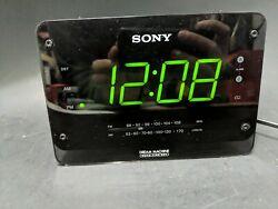 Sony Dream Machine ICF-C414 AM/FM Dual Alarm Clock Radio. Tested.