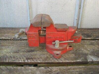 Columbian D63-12 3-12 Combination Bench Pipe Anvil Vise Swivel Base Usa B0172
