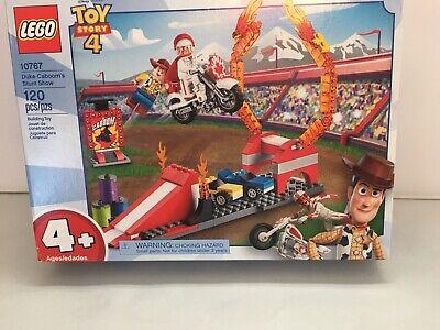 LEGO 4+ Disney Pixars Toy Story 4 Duke Caboom's Stunt Show Building Set 10767