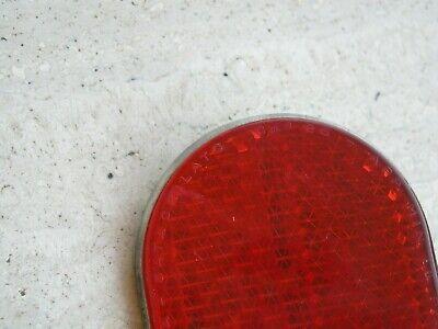 Flyer Vinyl Hub Shiner Sparkle Purple w// Red Reflector Schwinn Style Cruiser