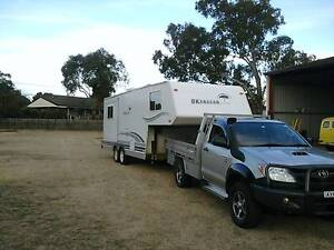 2007 Okanagan 5th Wheel and 2007 Toyota Hilux Diesel 4x4 Ute Grenfell Weddin Area Preview