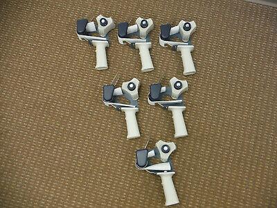 6 Brand New Packing Tape Heavy Duty Gun Dispensers For 2 Rolls