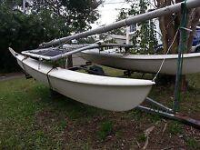 Hobie cat 16 sailing boat on registered trailer St Lucia Brisbane South West Preview