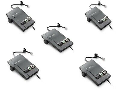 Plantronics Corded Telephone (Plantronics M22 Corded Telephone Headset Amplifiers for HW251N HW261N QTY 5  )