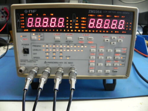 LCR Meter,  Model ZM2354 by NF Corporation