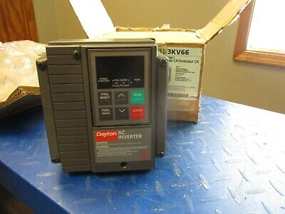 Dayton 3kv66 Ac Inverter Serial792234r014 5181226t New In Box