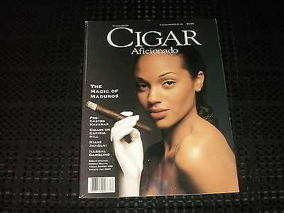Cigar Aficionado magazine Winter 1993/94 Maduro Issue