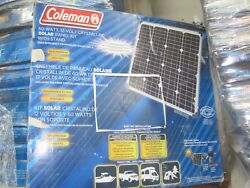 Coleman 60 Watt Solar Panel Kit Including Stand, Inverter Charge Control