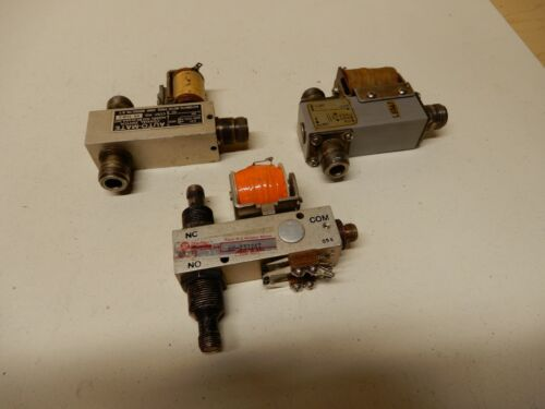 Dow-Key Series 66 Switch and Others Shown Total 3 Used