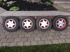 """13"""" Rims with Tires"""