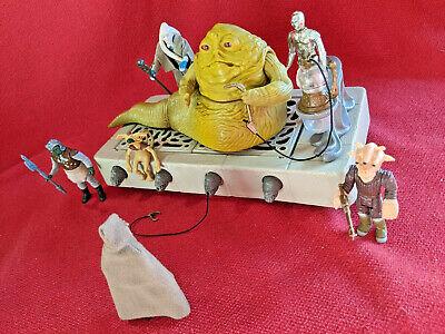 Star Wars Vintage Jabba the Hutt Playset COMPLETE 1983 vtg Kenner ROTJ