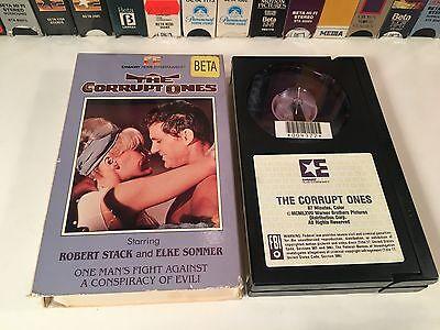* The Corrupt Ones Betamax NOT VHS 1967 Adventure Beta Robert Stack Elke Sommer