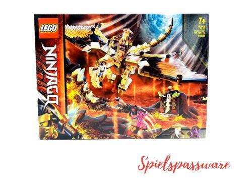 LEGO NINJAGO Wus gefährlicher Drache - 71718 NEU+OVP