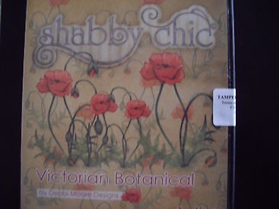 Debbi Moore CD Rom Shabby Chic Victorian Botanical New