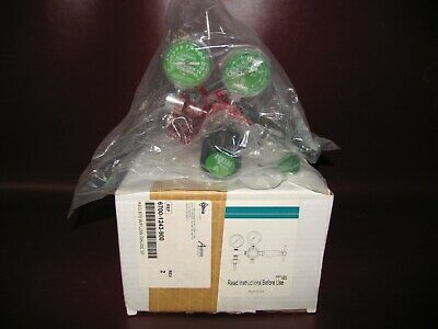 Ohioohmedaamvex 6700-1243-900 Medical Oxygen O2 Regulator W Flow Gauge