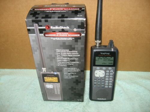 RadioShack PRO-106 Digital Trunking Scanner - Package