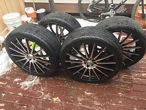 Rims and low pro tires Honda
