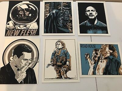 BATMAN ALIEN ROADHOUSE BRONSON HANDBILLS- Not Mondo NEW FLESH/N.E. poster print