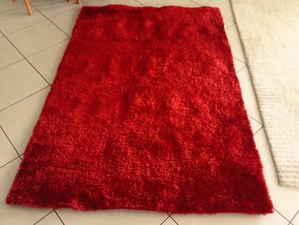 Red Panama Shag Rug