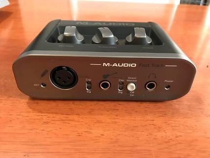 M-Audio Fast Track USB Digital Recording Interface