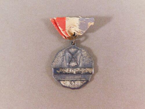 Peacock Military Academy Ribbon Medal 1940 Sol Frank Award Cutting