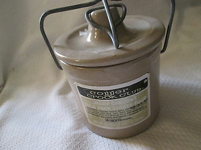 Great Seal of the United States Cheese Crock 1977 Copper Crock Club