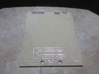 Ep Program Board 201 3002-a Cnc Edm 2013002-a Eltee Ep30 Edm