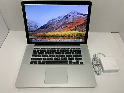 "Apple MacBook Pro A1286 Intel Quad Core i7-2.2GHz 8GB 240GBSSD15"" MD318LL/A 2011"