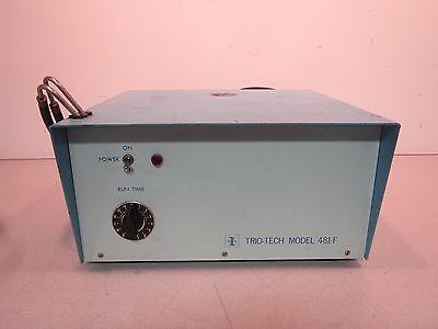 Trio-tech 481-f Bubble Leak Detector Pressure Chamber Filtration System Test Box