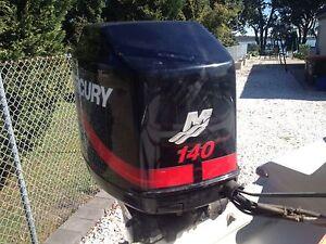MERCURY V6 140HP 2.5L LONG SHAFT OUTBOARD MOTOR. FRESH WATER ONLY Salt Ash Port Stephens Area Preview