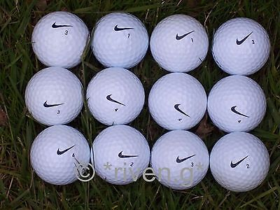 12 X NIKE GOLF BALLS@Grade A@Very good condition@PERFECT@COMPETITION NIKE Balls