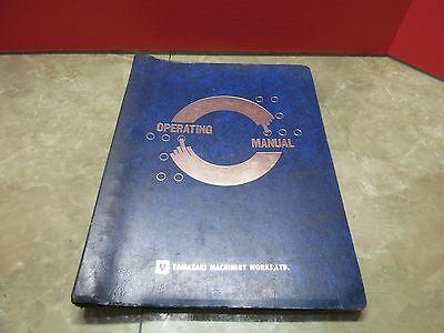 Yamazaki Mazak Operating Manual Vqc-2040a 2050a Cnc Mazatrol M1 Cnc Mill