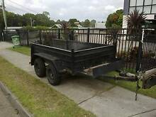 cheap tandem 2.6T small plant or mowing trailer Capalaba Brisbane South East Preview