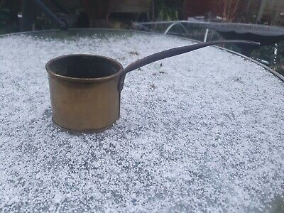 Antique copper cooking pot salvaged reclaimed