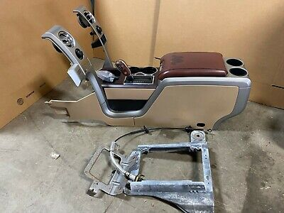 2013 FORD F-150 F150 KING RANCH BUCKET SEAT CENTER CONSOLE FLOOR STORAGE