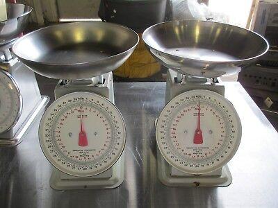 Yamato Smn-40pk 40 Lb. Dial Portion Scale Produce Scale No Glass