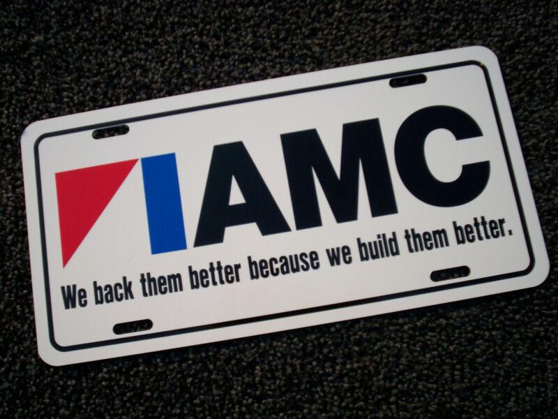 American Motors LICENSE PLATE TAG 1969 Javelin 1970 Gremlin 1971 Hornet 1972 AMC