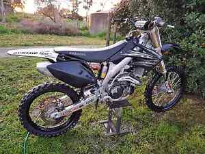08 limited edition black CRF450r Woodside Adelaide Hills Preview